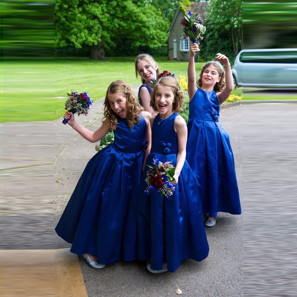 Royer Blue Pageant   Dresses   For Little   Girls   kids prom   dresses   first communion   dresses   for   girls     Flower     Girl     Dresses