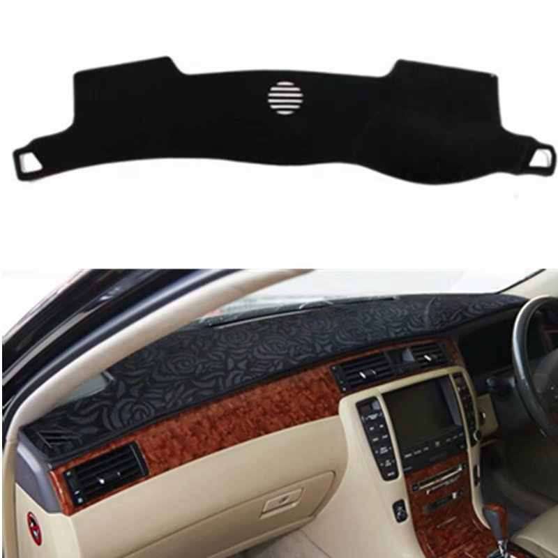 Para Toyota crown s180 2003 2004 2005 2006 2007 2008 Estilo Do Carro Cobre Traço Mat Dashmat Sun Sombra Tampa Do Dashboard capter personalizado
