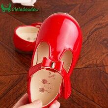 Nouveau-Né Bébé Filles Chaussures Rouge Noir Rose Pur Chaussure fille Premiers Marcheurs Bowtie Princesse Partie PU Chaussures en cuir Infantile fille