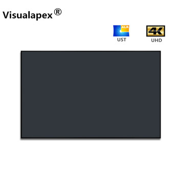 F7HSP 16:9HDTV Newest 3rd generation ALR ultra thin fixed frame screen for UST projector 1