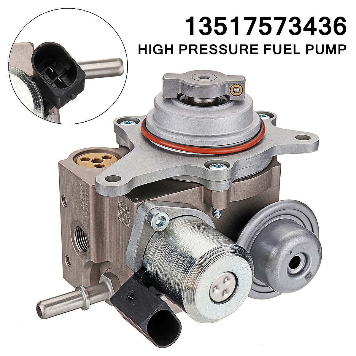 Acouto 13517573436 High Pressure Fuel Pump for MINI Cooper S Turbocharged R55 R56 R57 R58 R59