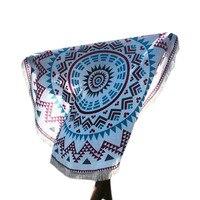 Robe Ronde Hippie Tapisserie Jeter Roundie Écharpe femmes Mandala Serviette Yoga Tapis Bohème Châles et foulards