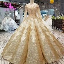 Vestido de novia AIJINGYU colección Vintage Boho para novia coser Material especial reina barato vestidos de novia turcos