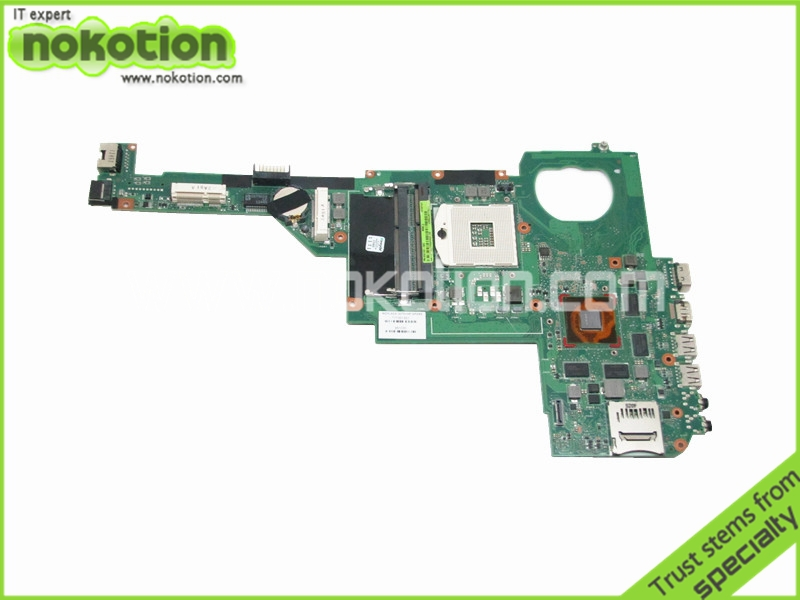 NOKOTION Free Shipping Laptop motherboard for HP Pavilion DV4-5000 692102-002 717187-501 HM77 NVIDIA GT630M 2GB DDR3 nokotion laptop motherboard for hp pavilion dv4 5000 intel hm77 ddr3 nvdia geforce gt630m 1gb graphics 676759 001