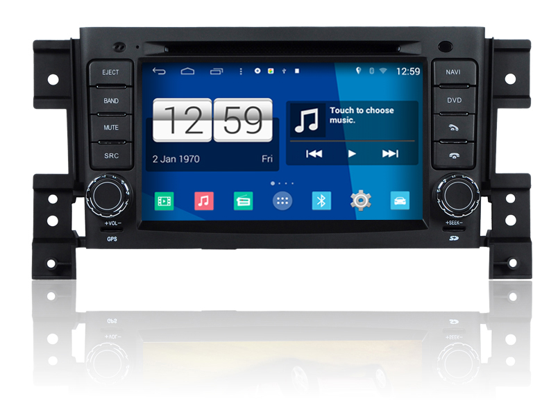 S160 Quad Core Android 4 4 4 font b car b font audio FOR SUZUKI GRAND