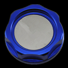 Blue Auto Racing Engine Valve Cover Oil Filler Cap Fit For Honda Acura Series Mugen Power
