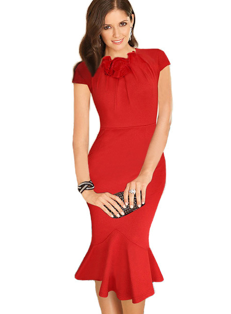 New Arrivals 2018 Women Dresses Elegant Celebrity Flower Ed Womens 1920s Bodycon Mermaid Kate