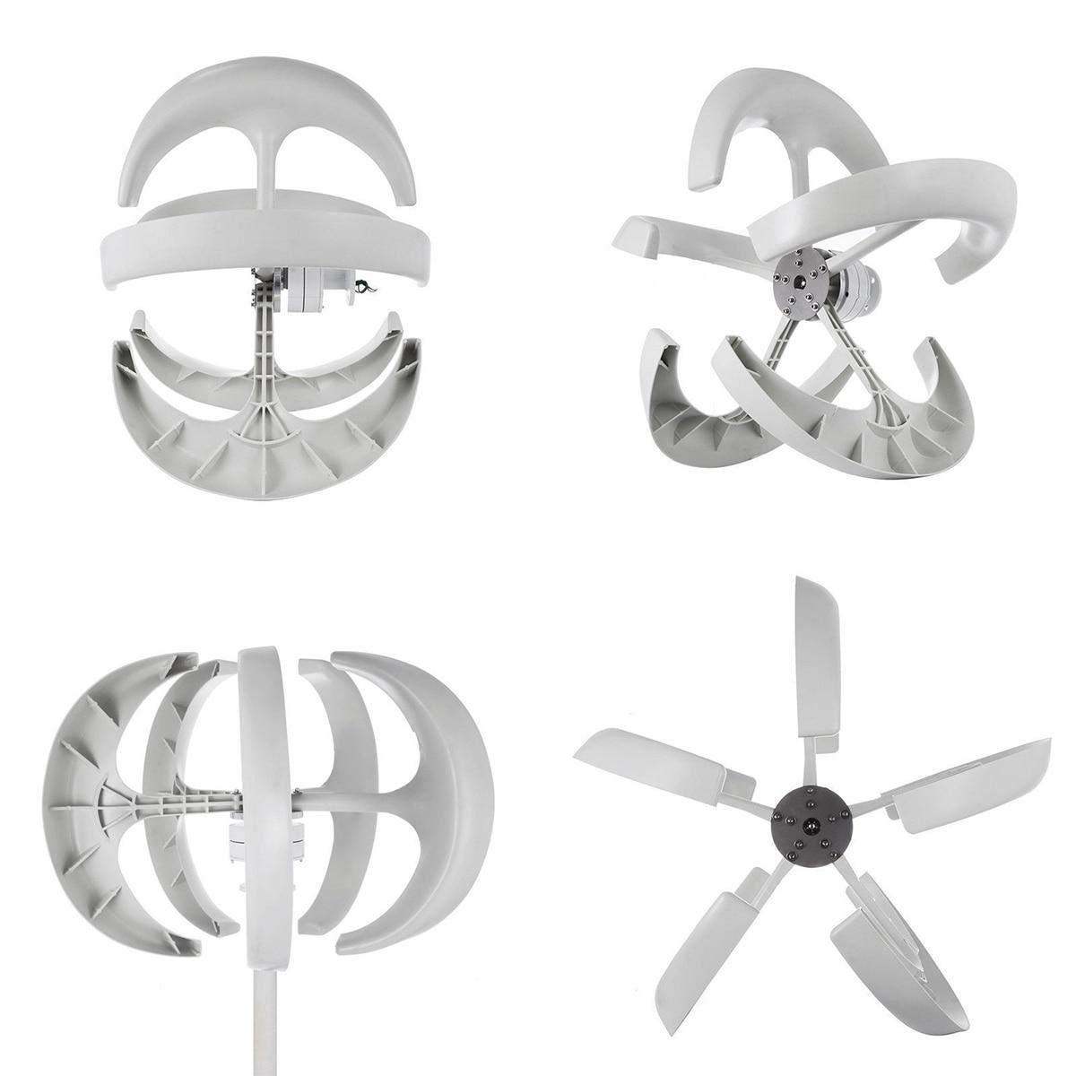 5 laminas eixo vertical turbina eolica gerador 03