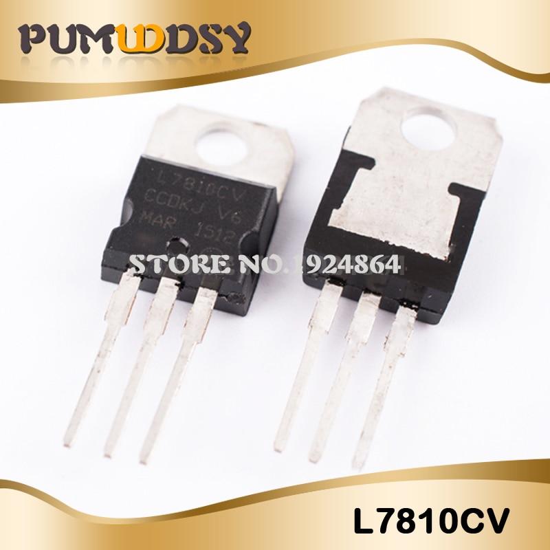 NEW 10 x L7810 LM7810 7810 Voltage Regulator 10V 1.5A