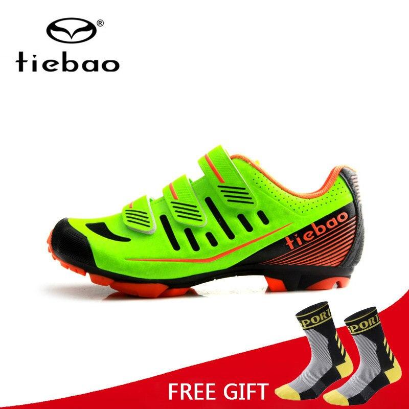 Tiebao profesional de Ciclismo zapatos transpirables zapatos de bicicleta  MTB de Auto-bloqueo atlético de 47408e373338a