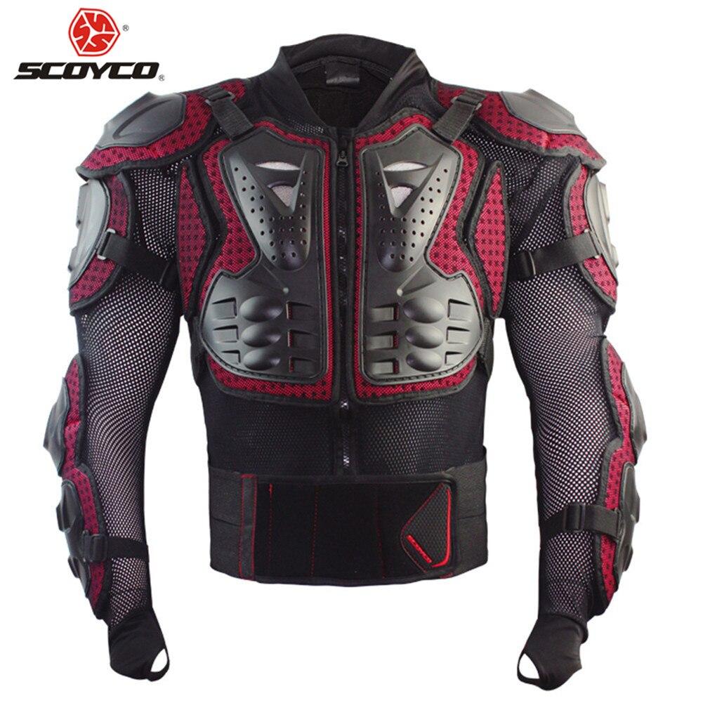 Scoyco мото спорта Броня Moto тела Armadura Мотокросс защитник Jaqueta Motoqueiro Armour Motocicleta Chaquetas куртка