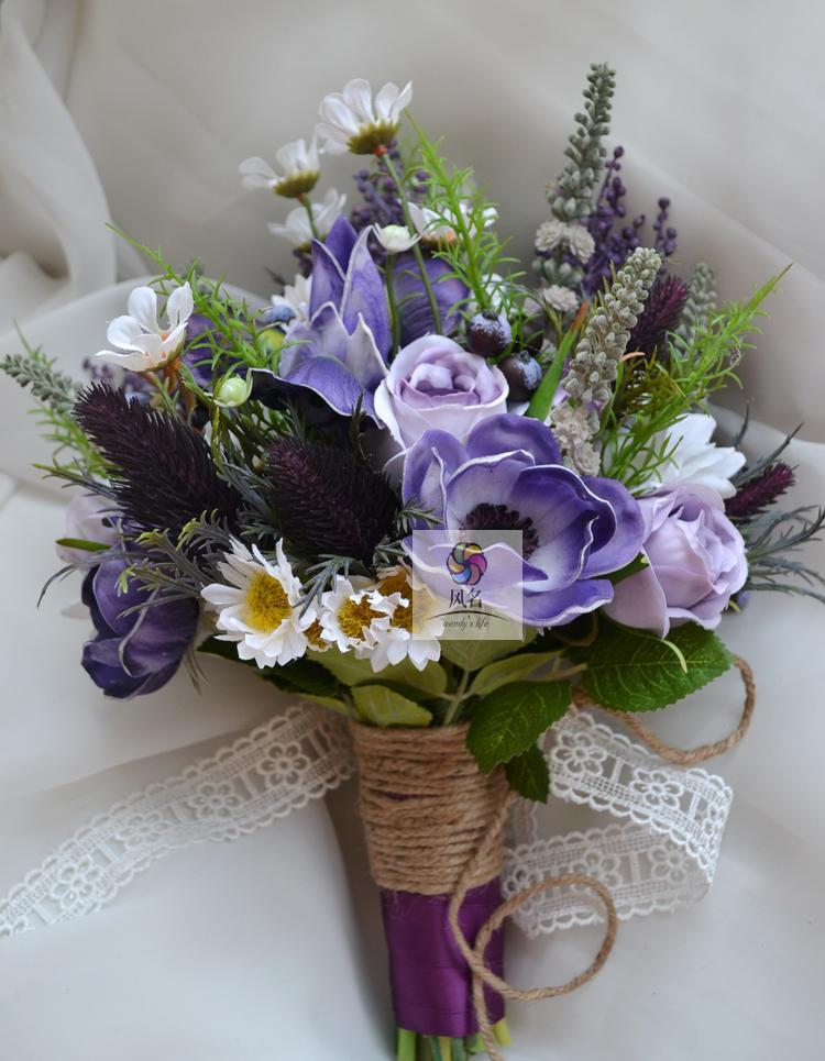 Bouquet Sposa Iris.Forniture Di Nozze Fatti A Mano Da Sposa Damigella D Onore Bouquet