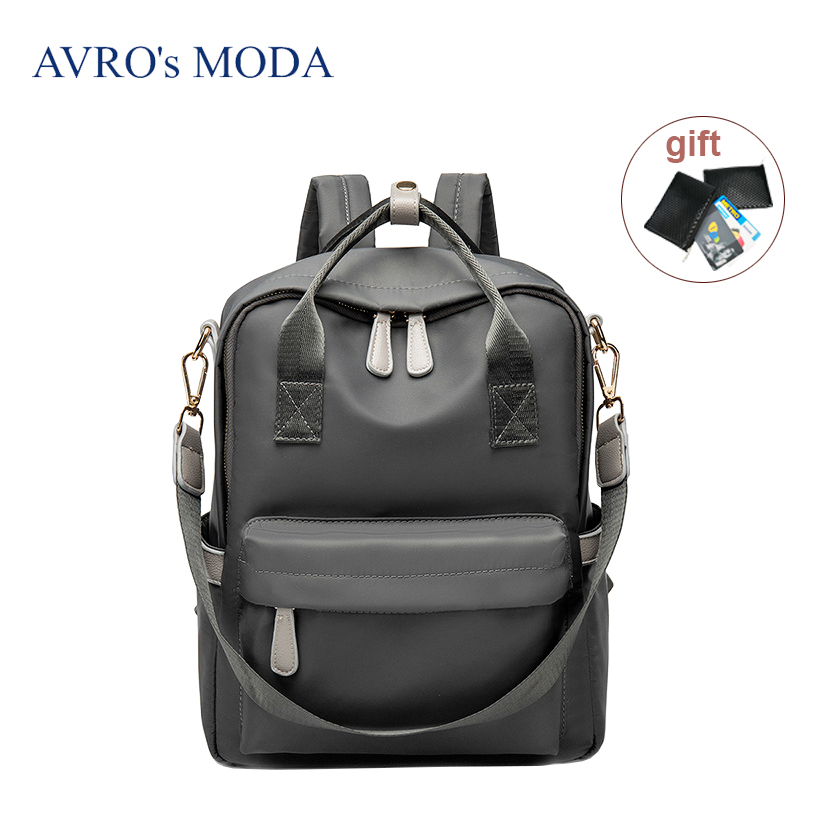 AVROs MODA 2019 Fashion brand women waterproof oxford anti-theft laptop backpacks ladies large capacity school travel bagsAVROs MODA 2019 Fashion brand women waterproof oxford anti-theft laptop backpacks ladies large capacity school travel bags