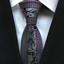 Итальянский дизайнерский галстук, мужской уникальный галстук, Роскошный Королевский синий галстук с полосками