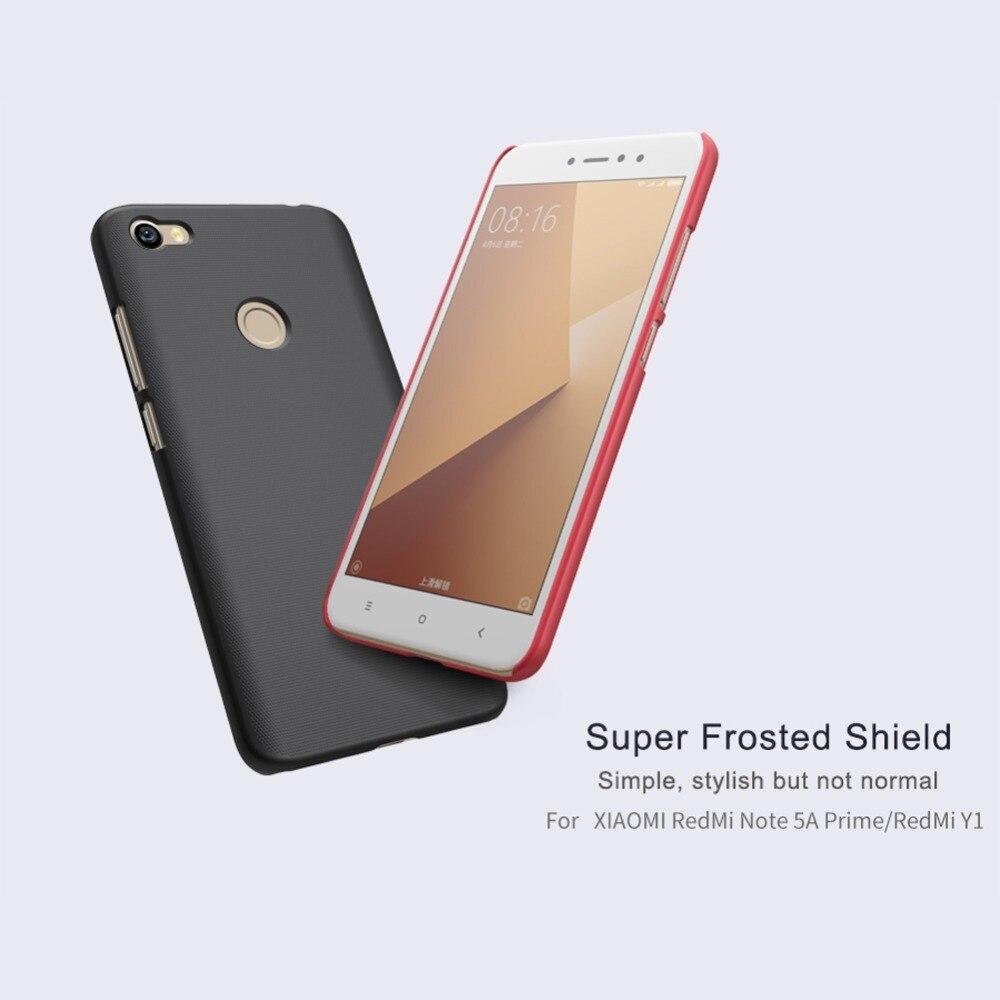 for Xiaomi Redmi Note 5A Prime case cover, Nillkin frosted shield cover plastic case for xiaomi redmi note 5a prime / Redmi Y1