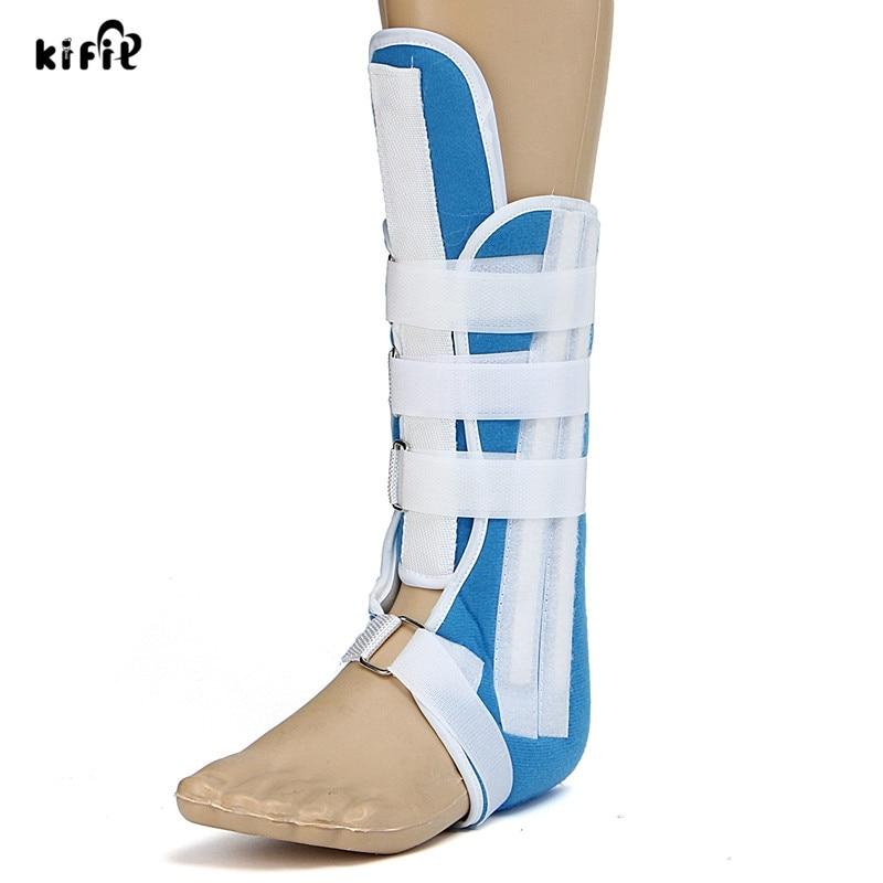 Blue Foot Calf Ankle Splint Support Brace Walking Boot Foot Brace Walker S-L