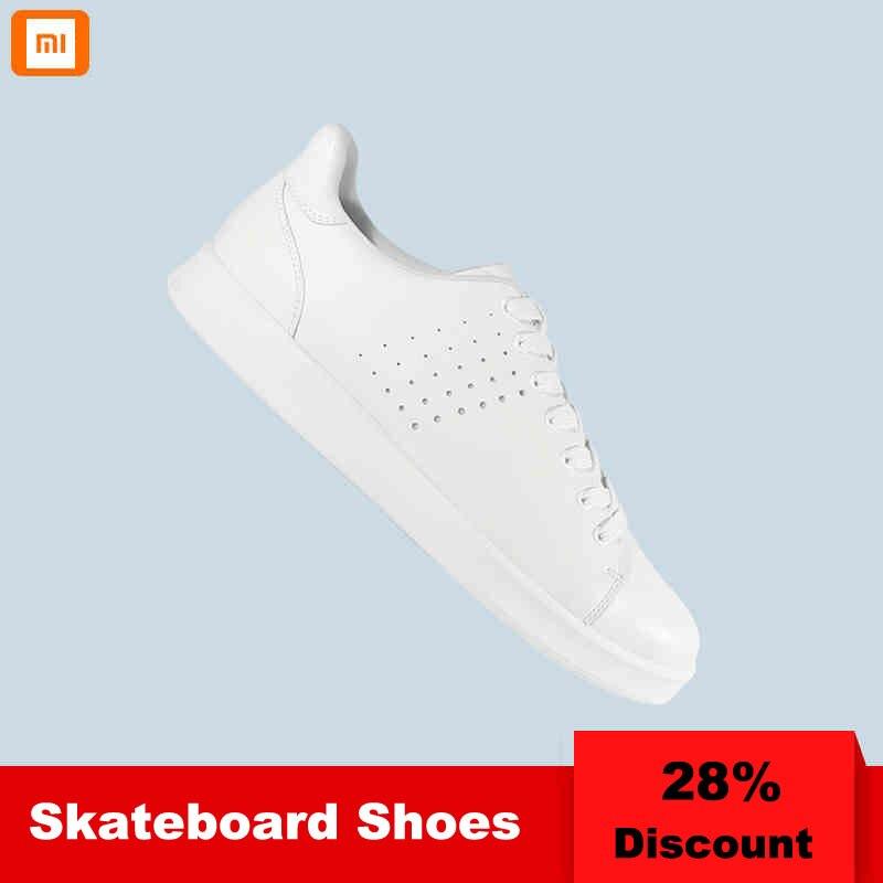 Xiaomi Mijia chaussures de planche à roulettes sport chaussures de course intelligentes hommes baskets respirant chaussures de sport de plein air chaussures de course de sport gratuites