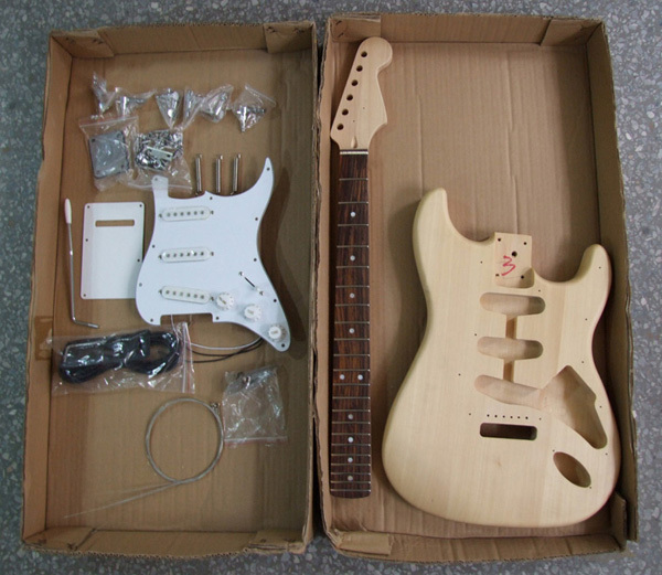 Diy Electric Guitar Parts : st electric gutiar kit with all accessories electric guitar diy kit in guitar parts ~ Russianpoet.info Haus und Dekorationen