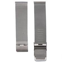 Горячая Распродажа, 18 мм, 20 мм, 22 мм, 24 мм, новые модные миланские наручные часы из нержавеющей стали, серебристый ремешок, высокое качество, аксессуары для часов