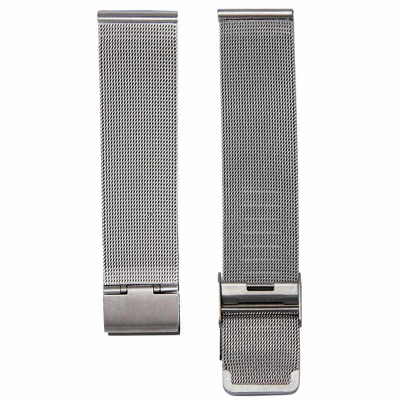 Hot Sale 18mm 20mm 22mm 24mm New Fashion Milanese Stainless Steel Wrist Watch Silver Band Strap High Quality Watch Accessories