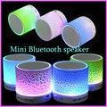 Led portátil mini altavoz bluetooth altavoces inalámbricos manos libres con tf usb fm blutooth música mic para el teléfono celular iphone 6 7 s