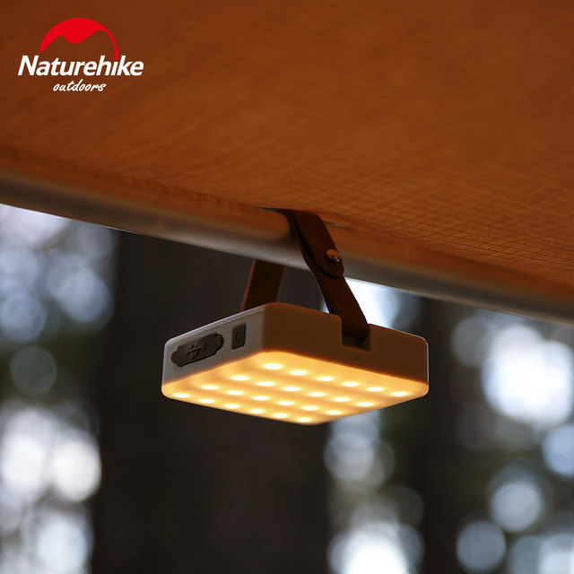 Naturehike Ultra Bright camp tent Lamp portable Functional Lantern LED rechargeable outdoor hand Lamp Super bright 7-180 hours 4
