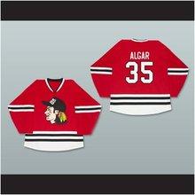 Personalizado xs-5xl Garth algar 35 Wayne s World rojo Hockey Jersey envío  gratis ae81dadd247