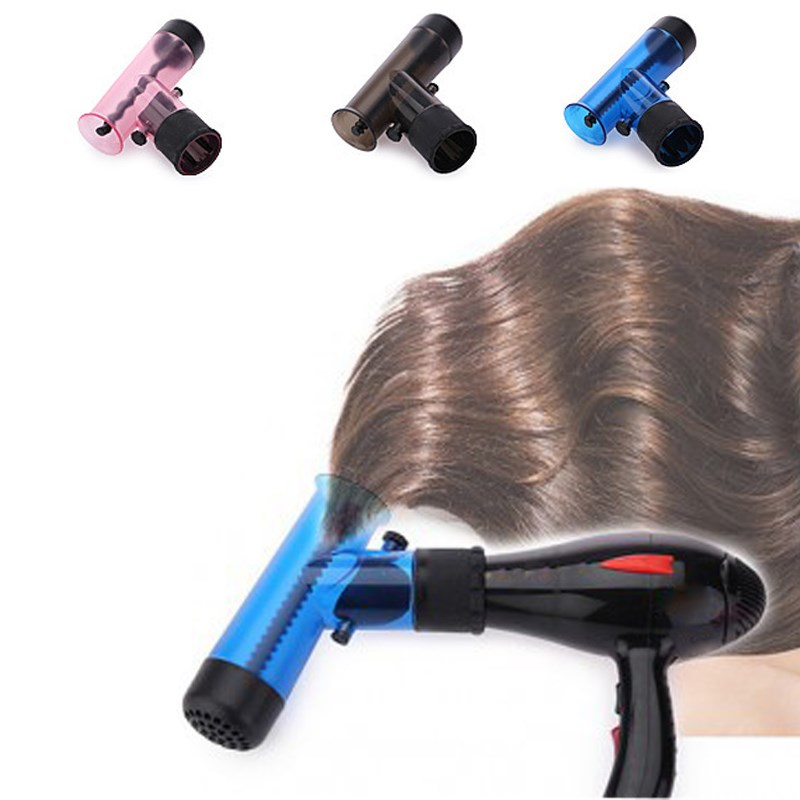 Portable Hair Dryer Diffuser Magic Wind Spin Detachable