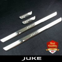 Free Shipping High Quality Stainless Stee Door Sills Scuff Plate Fit For NISSAN JUKE 2010 2014