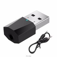 USBไร้สายบลูทูธสเตอริโอ3.5มม.สำหรับรถยนต์AUXลำโพงหูฟัง