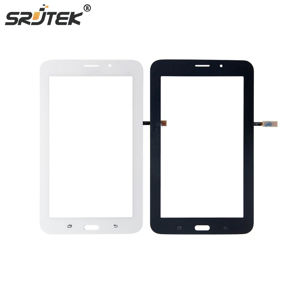 7'' For Samsung galaxy Tab 4 Lite T116 Touch Screen Digitizer Glass 3G Version Repairment Parts+Tracking Number touch screen replacement module for nds lite