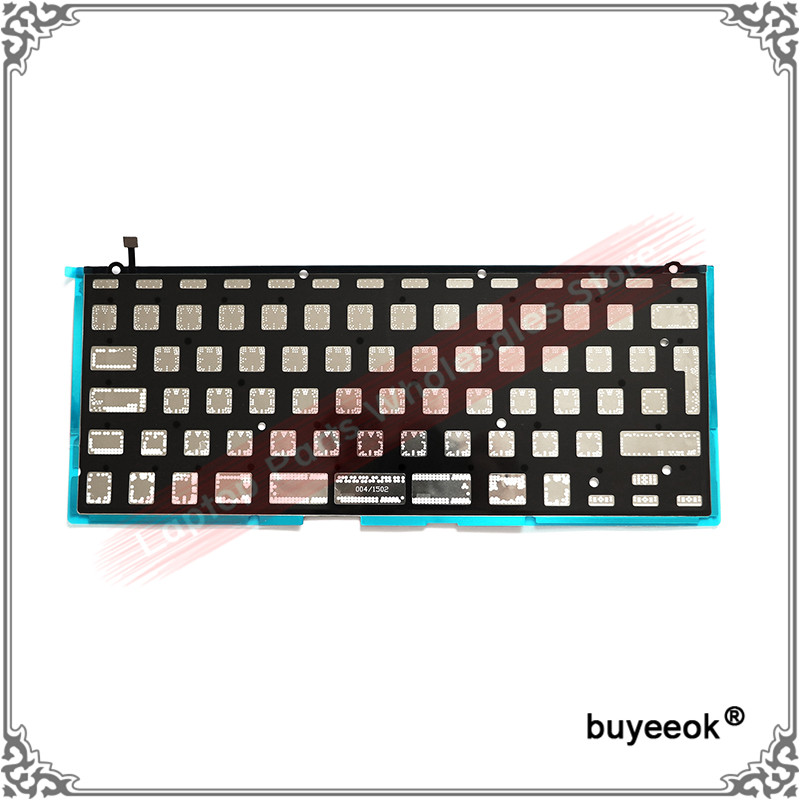 Original New A1502 Keyboard Black Cover Backlight Paper 818-4278 for MacBook Pro 13 A1502 2013 2014 2015 Retina US UK Layout