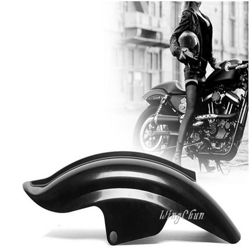 ФОТО  1 Pcs New Black Rear Fender For Harley Sportster XL Solo Cafe Racer Bobber Chopper XL1200 883