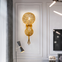 Postmodern LED living room sconces Nordic lighting stairs fixtures illumination bedroom wall lights home deco aisle wall lamps цена