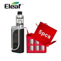 Original 220W Eleaf iKonn 220 Kit with iKonn 220 Box MOD & 4ml Ello Tank Atomizer & HW1 Coil no18650 Battery Vape Vs IKuun I200