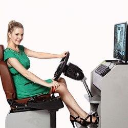 Computerspel Stuurwiel Auto Rijden Simulator Training Vliegtuigen Test Drive School Autorace Video Racing Truck Games