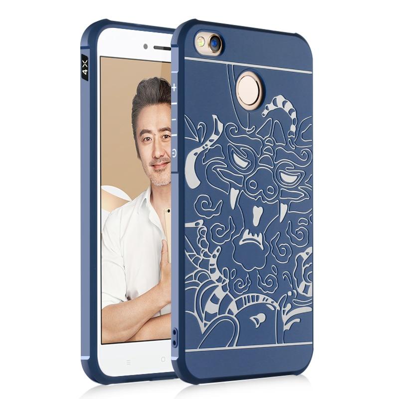 Para Xiaomi Redmi 4X Funda de teléfono de lujo Funda de silicona - Accesorios y repuestos para celulares - foto 6