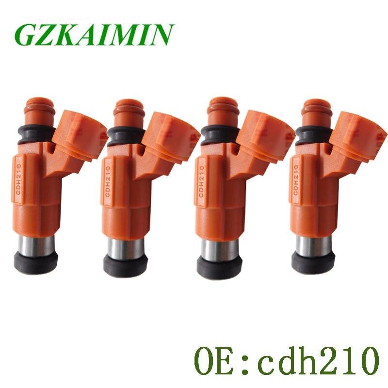 6 OEM Nikki Fuel Injectors Set INP-771 Rebuilt by Master ASE Mechanic USA