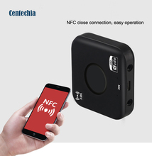 Bluetooth 4.2 3.5mm Audio Stereo Wireless Transmitter Receiver Music APT-X Adapter NFC Call Port for Car TV Headphones Speakers