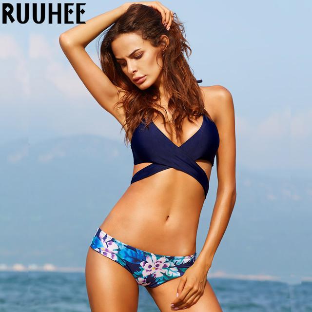 Bikini Set 2017 Summer Swimwear Biquini Women Sexy Beach Swimsuit Bathing Suit Push up Brazilian Bikini Maillot De Bain Bikini