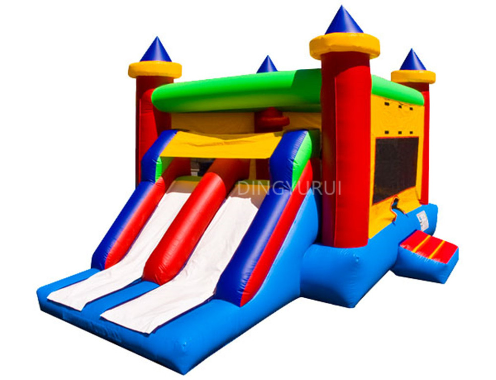 PVC  Used Bouncy Castle Inflatable Bouncer with SlidePVC  Used Bouncy Castle Inflatable Bouncer with Slide