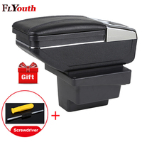 Car Armrests Box For Volkswagen Tiguan 2009 2017 Central Store Content Box With Cup Holder Interior Car Styling Accessory Part