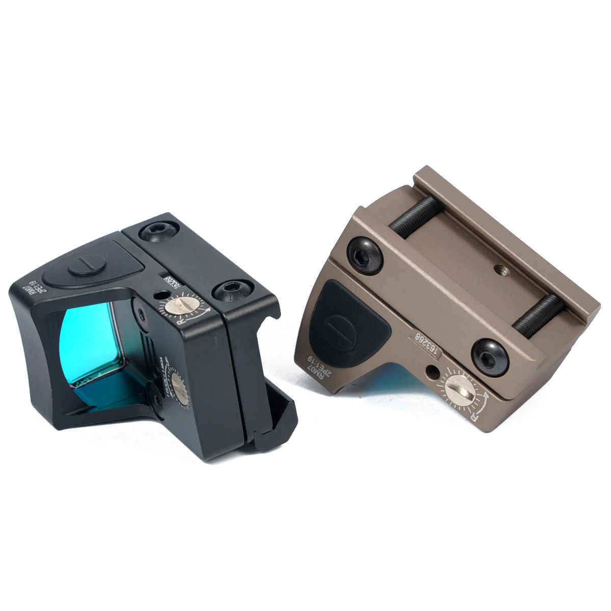 Táctico ajustable Trijicon RMR punto rojo reflejo vista 3,25 MOA de miras de caza para KSC Glock y 1913 Airsoft pistola