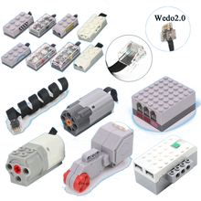 TECHNIC POWER FUNCTIONS EXTENSION WIRE CABLE CONNECTOR CRYSTAL HEAD FIT FOR EV3 WEDO2.0 ROBOTBIT ROSBOT BRICK BLOCKS TOY