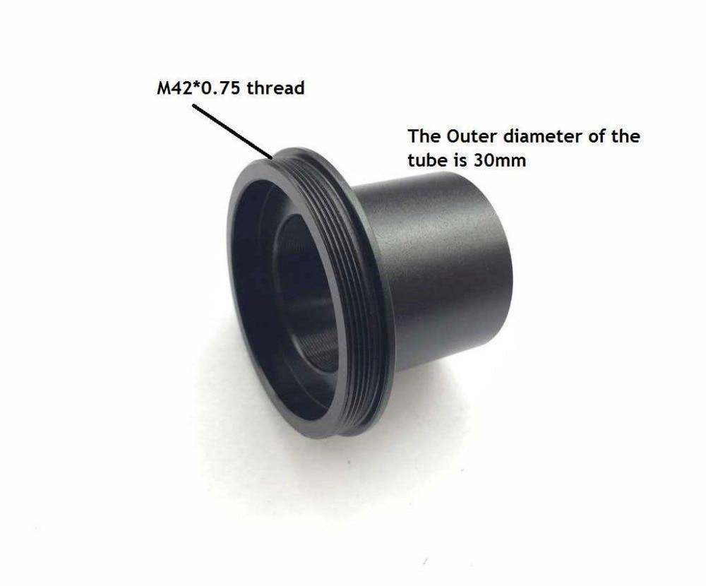 Neue t mount kamera adapter eine stereo mikroskop okular rohr 30mm