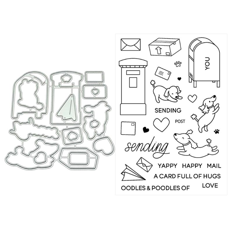 Mail Metal Cutting Dies Stencils For DIY Scrapbooking Photo Album Paper Card Crafts Decorative Embossing