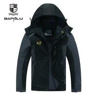 Spring Autumn jacket Men 5XL 6XL 7XL 8XL jacket male waterproof Plus velvet jacket men thin section Casual Hooded jacket coat