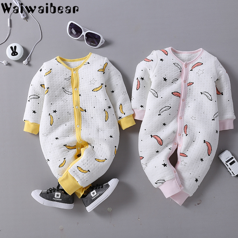 Baby Infant   Rompers   Baby Boys Girls Long-Sleeved Jumpsuits Baby Pure Cotton Rmopers Clothes With Quality Assurance DD37
