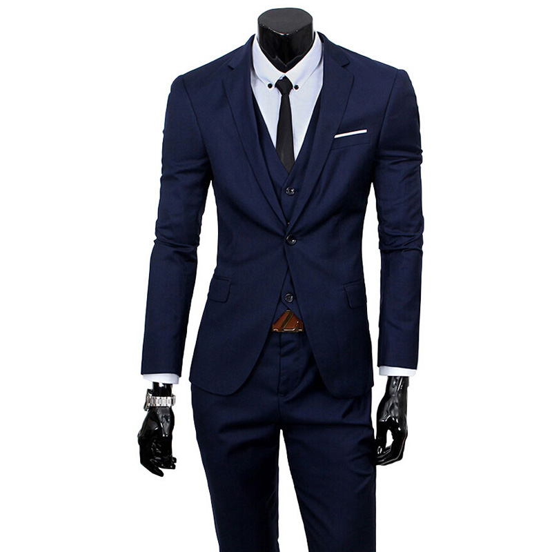 Mens Wedding Suits 2017 Brand New Tuxedo Suit Latest Coat Pant Designs Formal Dress Men Suit Set ...