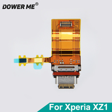 Dower Me Tipi C USB Şarj Şarj Portu dock konektör esnek kablo Sony Xperia XZ1 G8341 G8342 Ücretsiz Kargo